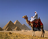 Great Pyramids. Giza. Egypt