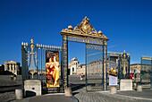 Iron gate. Versailles Palace. France