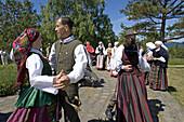 Folklore festival, Nida. Curonian Spit, Lithuania