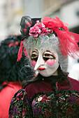 Fasnacht Carnival. Fasnacht costume. Basel. Switzerland.