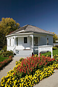 Birthplace of John Wayne. Actor and Cowboy Icon. Winterset. Madison County. Iowa. USA.