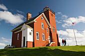 Two Harbors Lighthouse. Two Harbors. Minnesota. USA.
