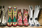 Country Music Mecca of the Midwes.The Roy Rogers & Dale Evans Cowboy Museum. Roy Rogers Cowboy Boots. Branson. Missouri. USA.