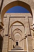 Morocco. Tizi-n-Test pass road. Tin Mal: Tinmal Mosque (b.1153). Exterior