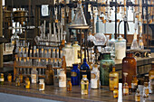 Interior of Edison Laboratory. Edison Estate and Laboratory. Fort Myers. Florida. USA.