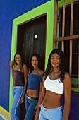 Venezuelan girl. Los Roques