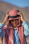 Bedouin-boy, Egypt, Northern Africa