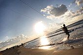 Kite surfing, Tel Aviv, Israel