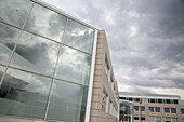 Building, Buildings, Business, Cloud, Clouds, Cloudy, Color, Colour, Contemporary, Daytime, Exterior, Office, Offices, Outdoor, Outdoors, Outside, Overcast, Window, Windows, C47-605055, agefotostock