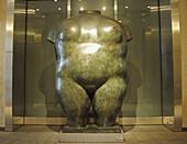 Female torso. 1982. Fernando Botero. New York
