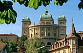 Banderhaus (home of the Swiss National Government) Bern. Switzerland