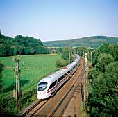 ICE3 High-Speed Train. Germany