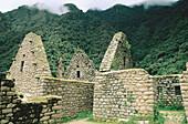 Ruins of Huinay Huayna, on the Inca trail. Peru