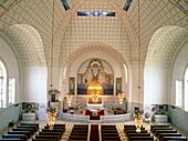 Church of the Steinhof Asylum. Otto Wagner Architect. Art Nouveau. Vienna. Austria.