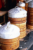 Asia, Box, Boxes, China, Chinese food, Close up, Close-up, Closeup, Color, Colour, Cooked, Cuisine, Dish, Dishes, Gastronomy, Indoor, Indoors, Inside, Interior, Plate, Plates, Shanghai, Still life, Vertical, Vessel, Vessels, World locations, E12-392708,