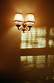 Lamps. Interior of a house