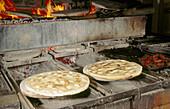 Making torta al testa. Umbria. Italy