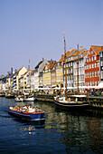Nyhavn ( New Harbor ). Copenhagen. Denmark