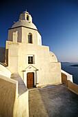 Agios Minas church, Thíra. Santorini, Greece