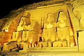 TEMPLE OF RAMSES II,ABU SIMBEL,EGYPT.