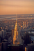 Chrysler Building and Midtown Manhattan skyline, NYC. USA
