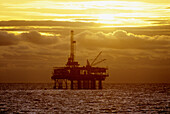Oil rig. California, USA