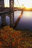 George Washington Bridge, Manhattan, NYC. USA