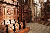 Choir of Saint-Maximin s basilica. Provence. France