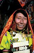 Kuna Indian woman. Panama.