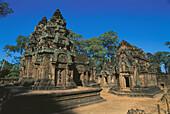 Banteay Srei, temple complex of Angkor Wat. Angkor. Cambodia