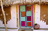 House in Rajasthan. India