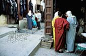 Market. The Medina. Fes el Bali. Fes. Morocco