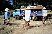 Public transport. Champasak. Laos