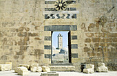 View inside the citadel. Aleppo. Syria