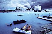 Geothermal Power Plant. Svartsengi. Blue Lagoon. Iceland