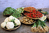 Vegetables market at old town. Jodhpur. Rajasthan. India