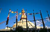 Bodhnath Stupa. Kathmandu Valley. Nepal