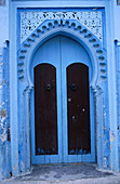House door. Chechaouene. Rif region, Morocco