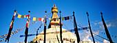 Buddhist stupa, Bodhnath. Kathmandu valley, Nepal