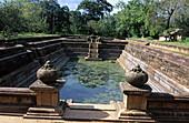 The twin ponds, Kuttam Pokuna. Anuradhapura. Sri Lanka