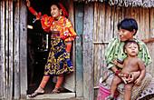 Kuna indians. San Blas archipielago. Panama