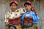 Kuna Indian women. San Blas archipielago. Panama