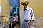 Old men in Trinidad. Cuba