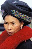 Yao woman. Muang Sing. Laos