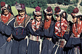 Summer festival (Utchao). Kalash ethnic group. Rumbur valley. Chitral area. North West Frontier Province (NWFP). Pakistan
