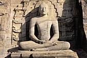 Buddha statue, Gal Vihara. Polonnaruva, Sri Lanka