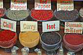 Aliment, Aliments, Bowl, Bowls, Close up, Close-up, Closeup, Color, Colour, Cuisine, Different, English, Flavoring, Flavouring, Food, Foodstuff, Gastronomy, Indoor, Indoors, Ingredient, Ingredients, Inside, Interior, Middle East, Nourishment, Seasoning,