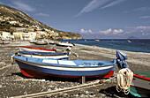 Canneto beach. Lipari Island. Eolie Island. Sicily. Italy.