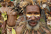 Aborigine, Aborigines, Adult, Adults, Celebrate, Celebrating, Celebration, Celebrations, Ceremonies, Ceremony, Close up, Close-up, Closeup, Color, Colour, Daytime, Ethnic, Ethnicity, Exterior, Face, Faces, Facing camera, Festival, Festivals, Group, Group