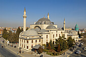 Tomb of Jalal al-Din Muhammad Rumi (mystical poet and founder of The Whirling Dervishes), Konya. Central Anatolia, Turkey